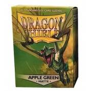 Sleeves - Dragon Shield Apple Green Matte 100