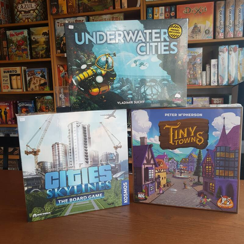 Cities: Skylines + Tiny Towns + Underwater Cities