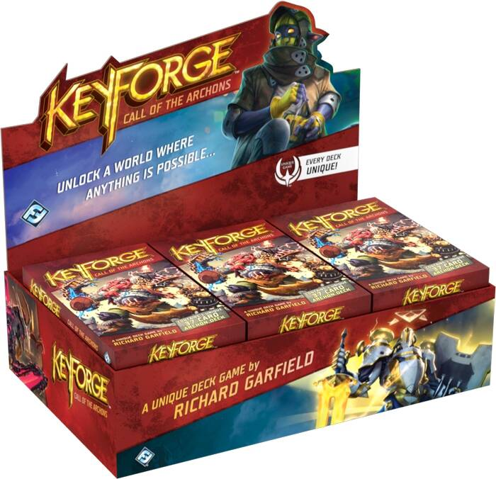 KeyForge Call of the Archons Display