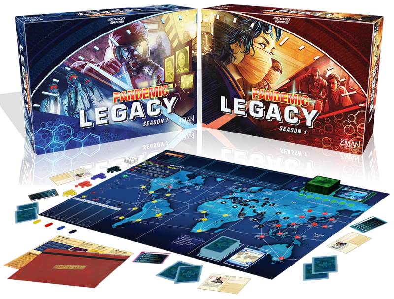 Pandemic Legacy Season 1 (EN) - Blue