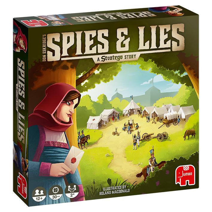 Spies&Lies: A Stratego Story
