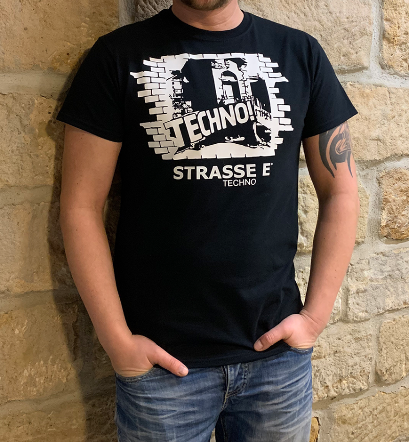 T-Shirt STRASSE E techno HOLY DOOR