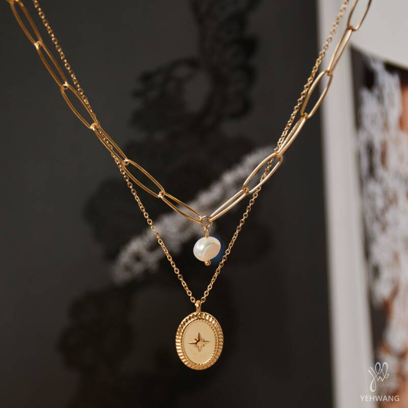 Necklace combo pearl