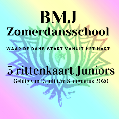 5-rittenkaart Juniors