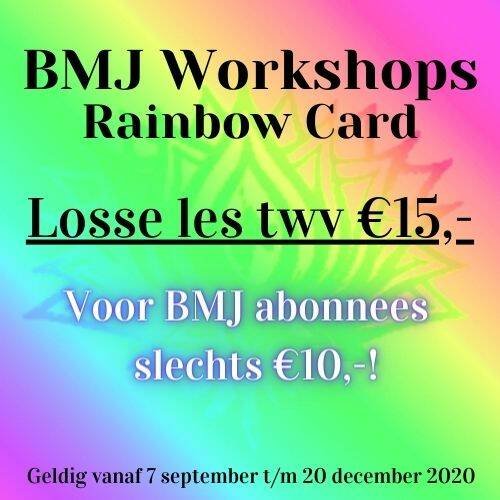 Rainbow Card- Losse workshop