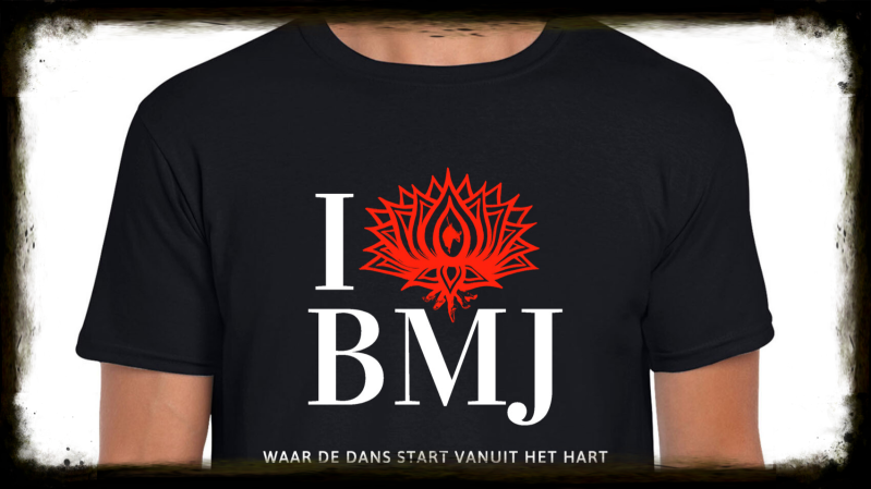 'I LOVE BMJ' T-Shirt -Adult