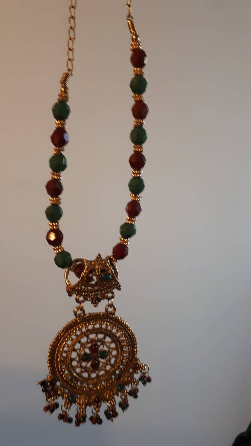 Gold tone Traditional Indian Mangal Sutra