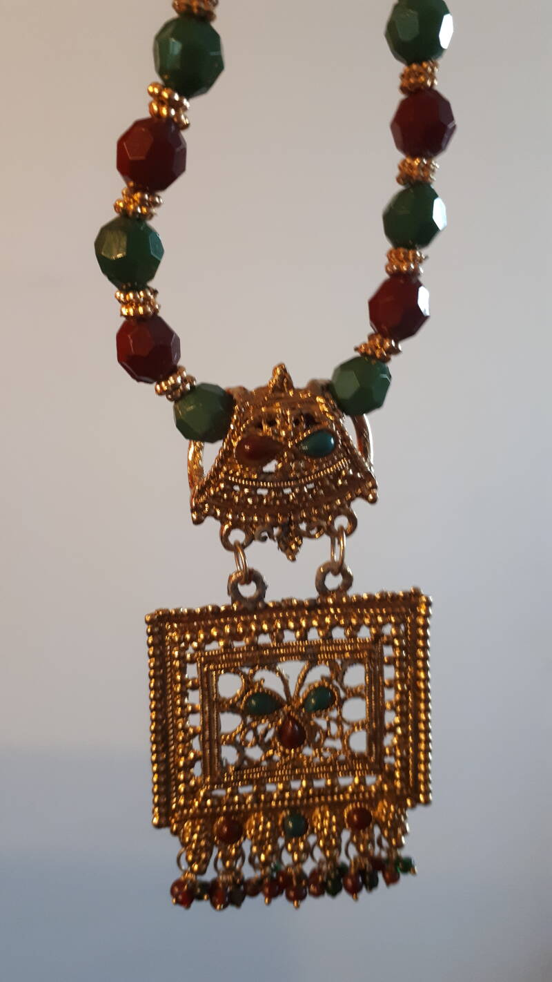 Indian traditional Gold Tone Mangal Sutra