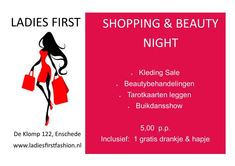 LADIES FIRST SHOPPING & BEAUTY NIGHT