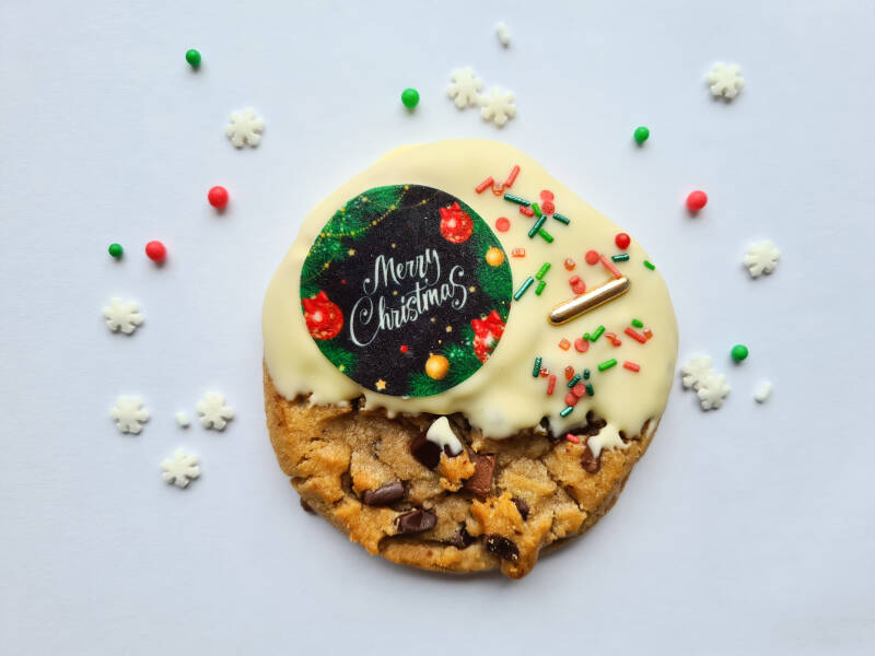 Cookie merry christmas