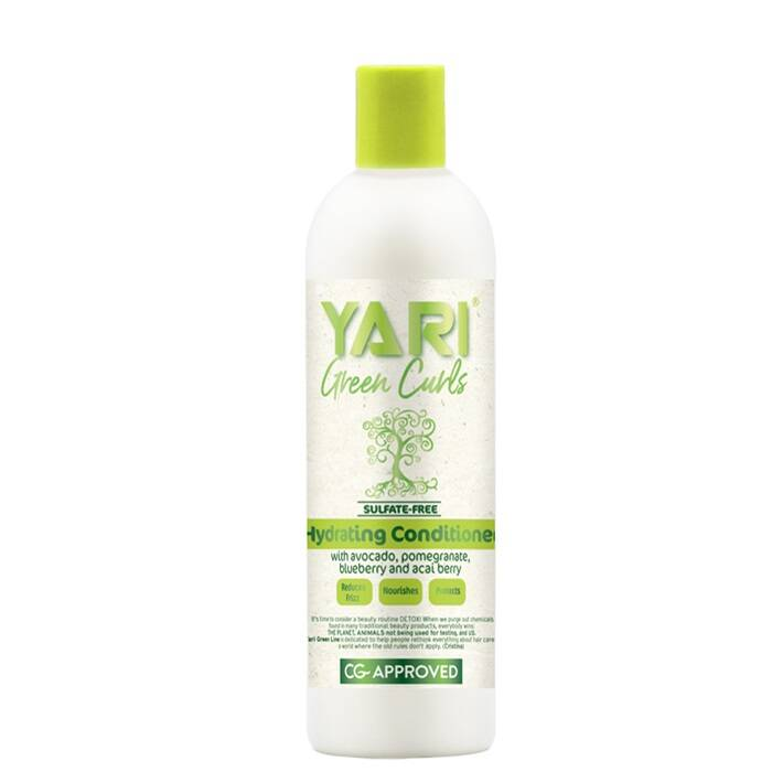 Green Curls Hydrating Conditioner 355 ml Yari