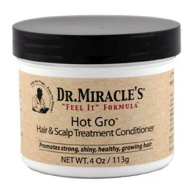 Dr.Miracle's Temple & Nape Gro Balm 4Oz
