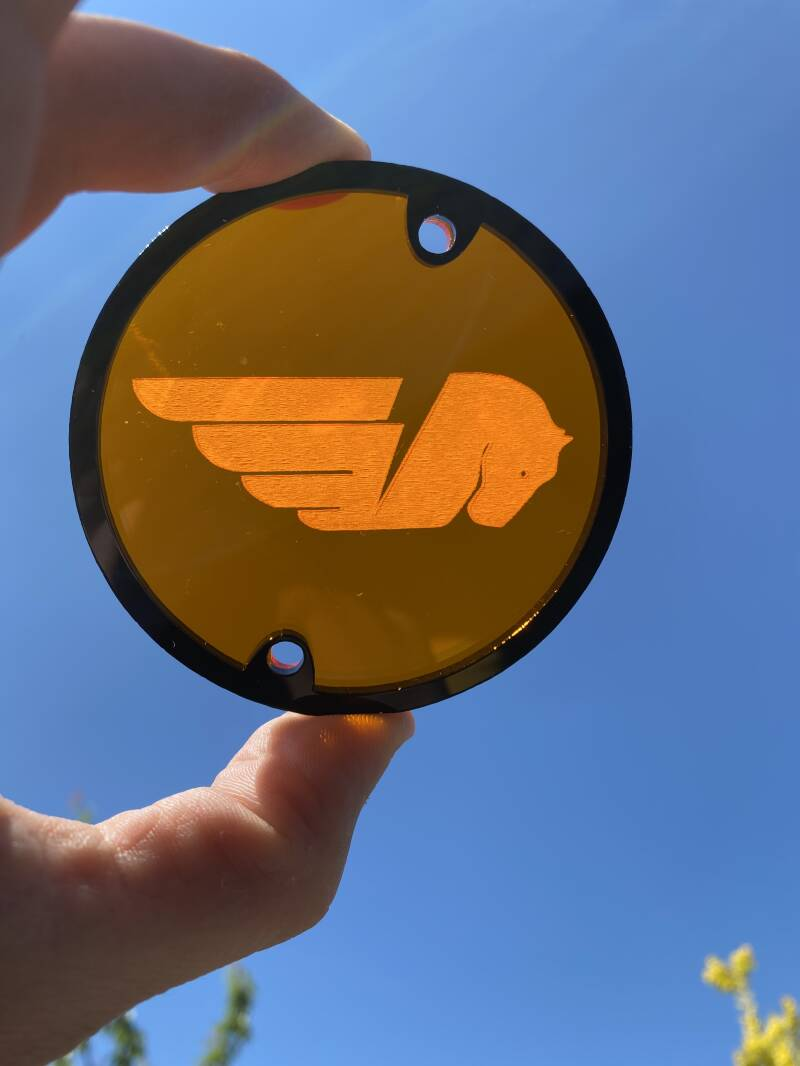Buell Translucent Timing Cover '03-'07 XBs XBr