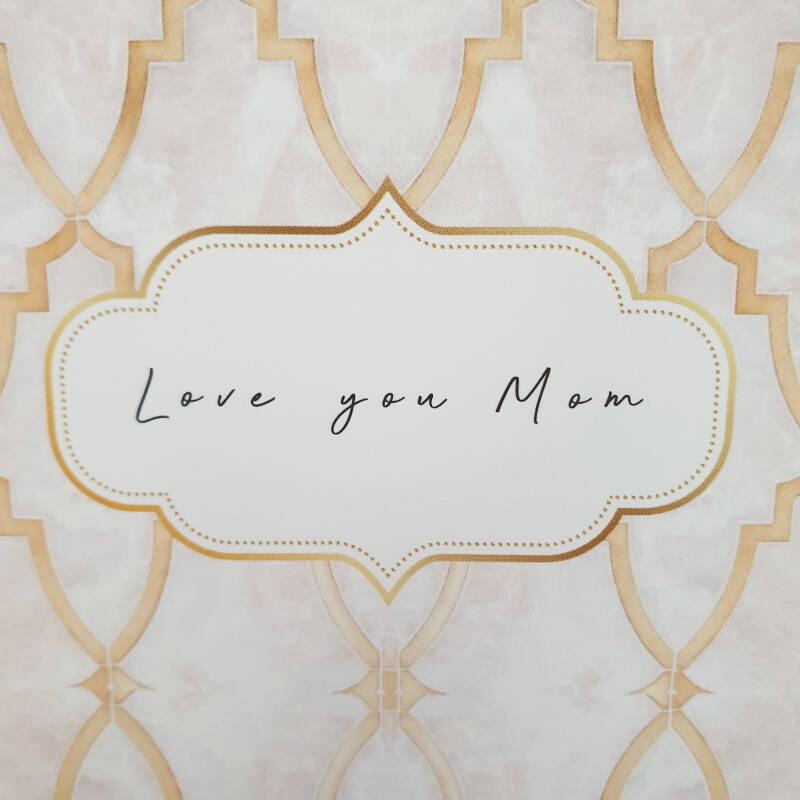 GRATIS kaart met tekst: Love you mom