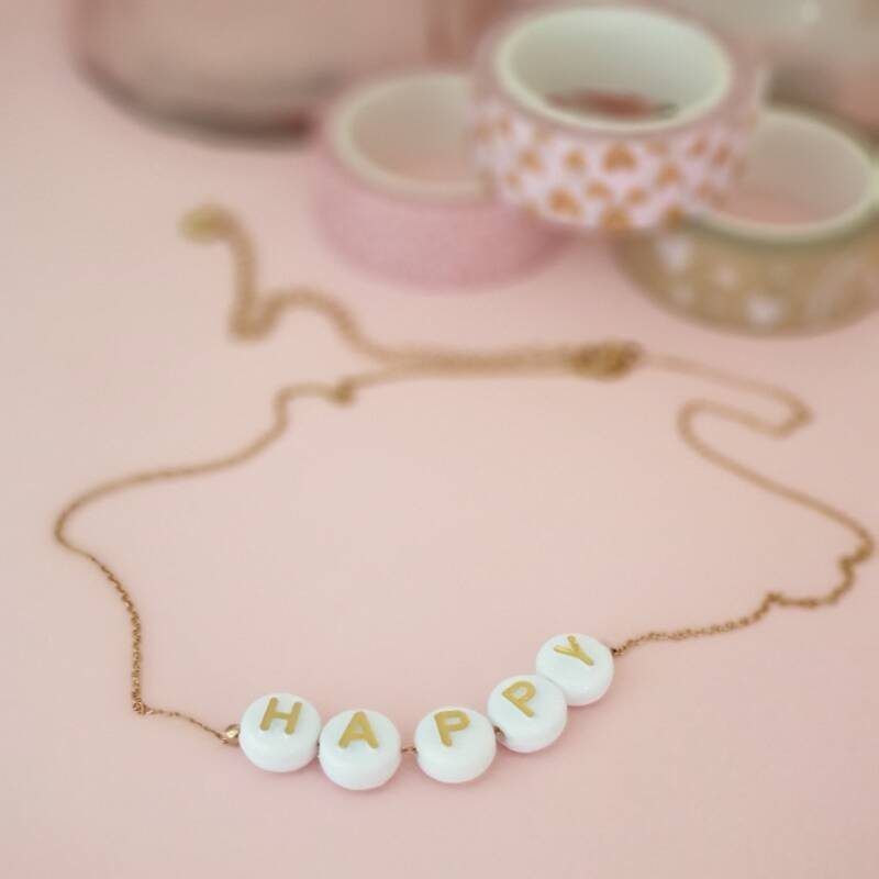 Ketting - H . A. P. P. Y
