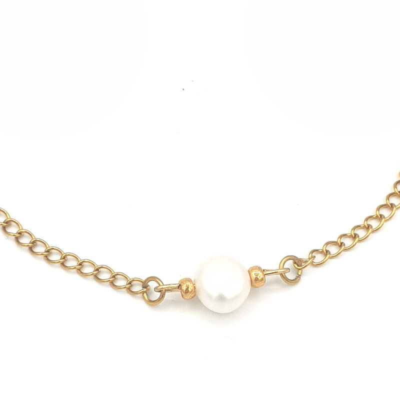 Armband - Simple Pearl (echte parel)
