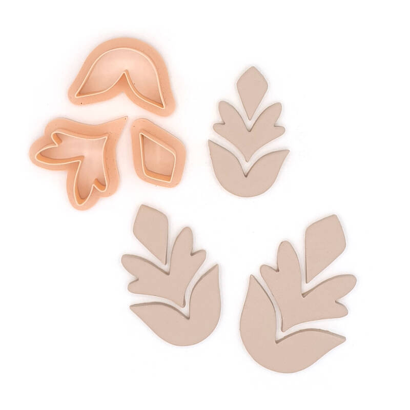 Leaf Party Earring set
