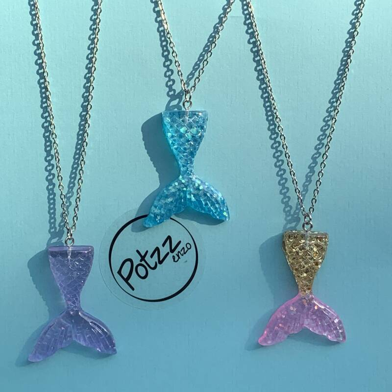 Mermaid ketting