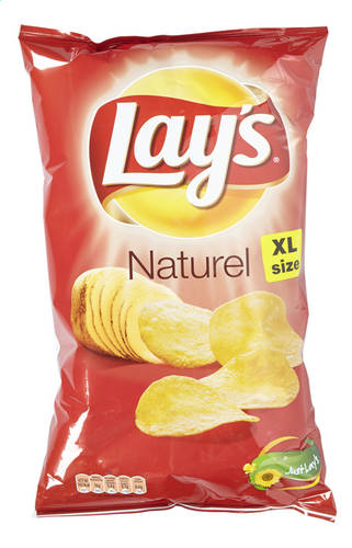 Lay's Chips Zout