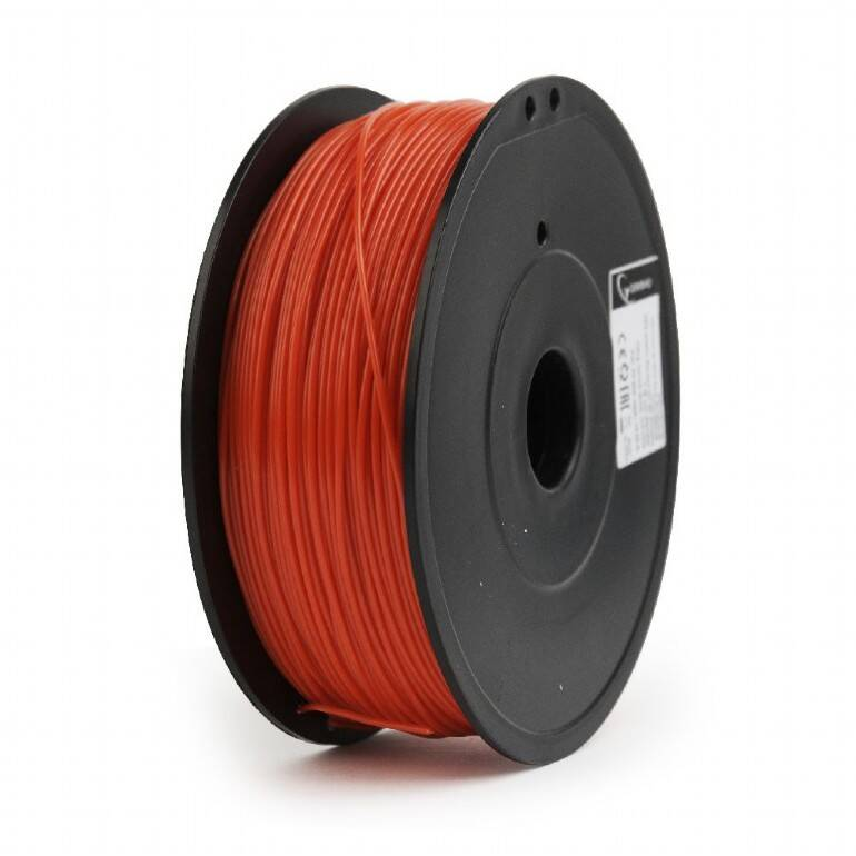 Gembird ABS - Rood - 1 kg spool 1,75mm & 3mm