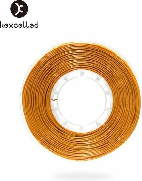 Kexcelled PLA Silk 9 - Goud - 1 kg spool 1,75mm