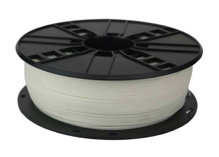 Gembird ABS - Wit - 1 kg spool 1,75mm & 3mm
