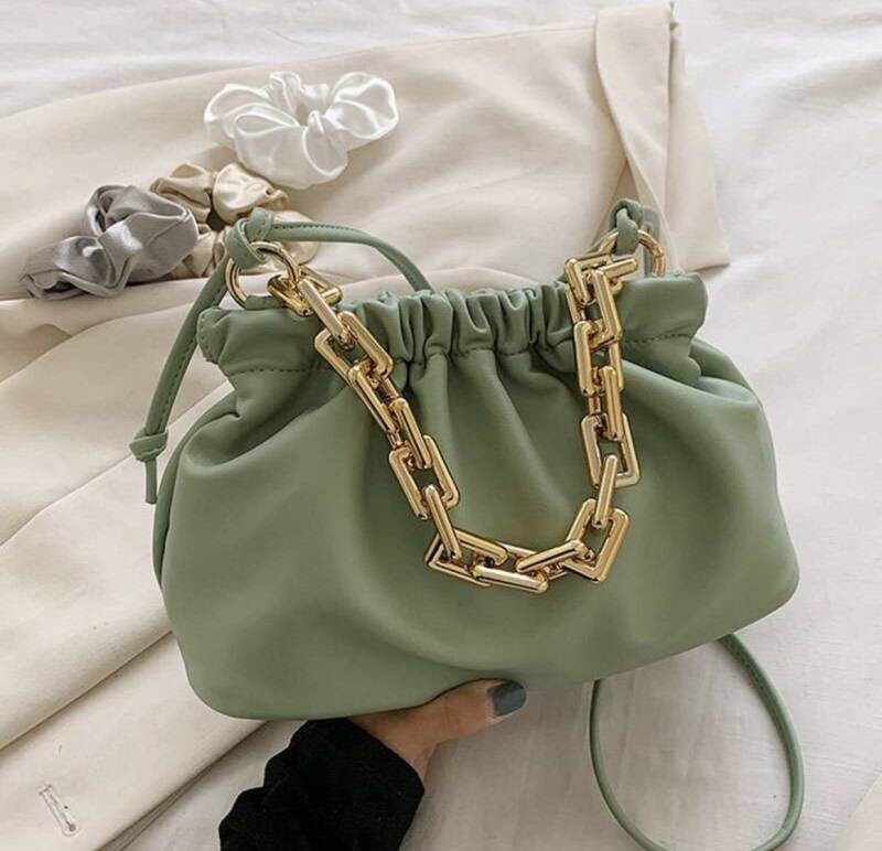 Cloud bag mint groen