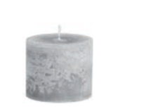 Bert Candle Grey