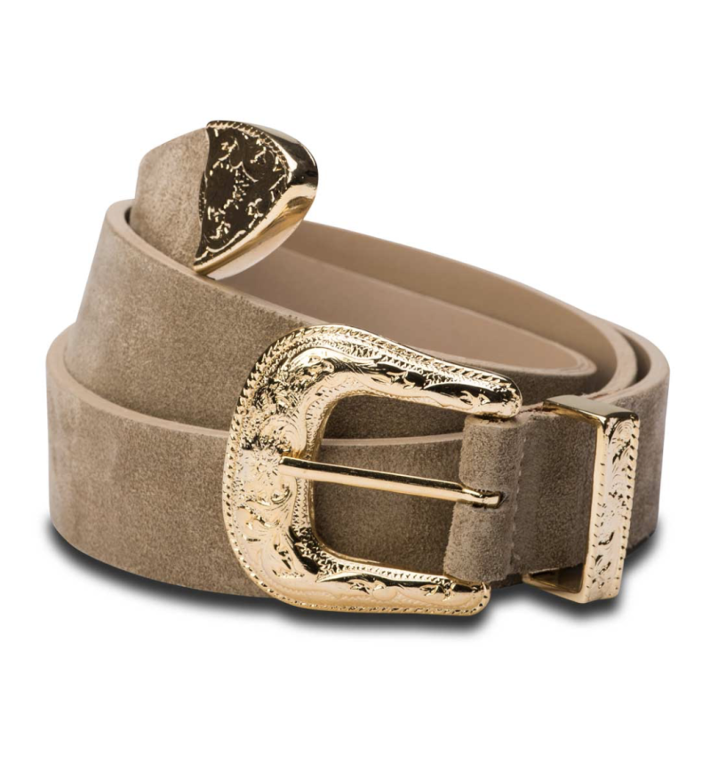 Buckle me Up Uno – Beige / Gold