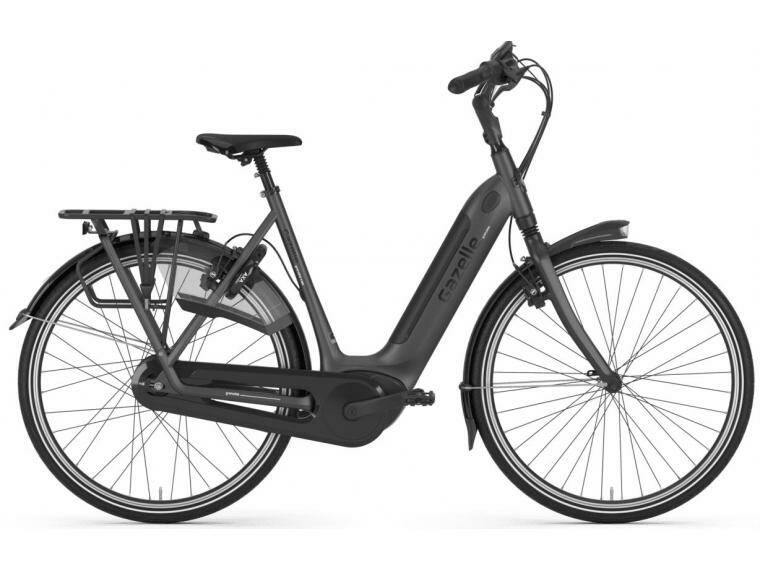 Gazelle Grenoble C380 HMB eclipse black 500wh