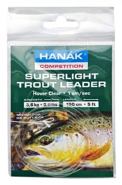 Hanak Superlight Trout Leader Intermediate or Hover Clear