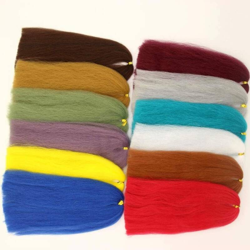 Synthetic EP Silky Fibers 3D Soft Fluffy Fibre