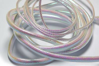 Iridescent Pearl Mylar Piping