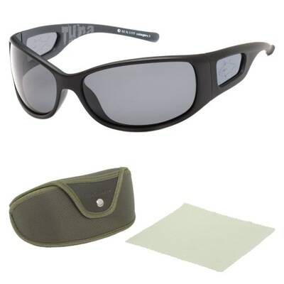 Solano fly fishing sunglasses  yellow - brown or gray