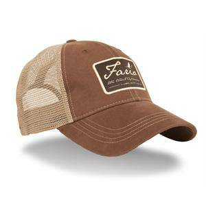 Guideline Fario Cap Dark Brown/Khaki Mesh