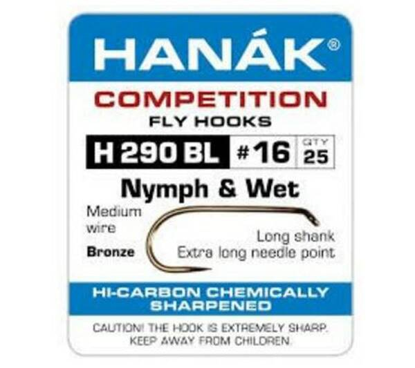 Hanak  H-290-BL (Nymph & Wet