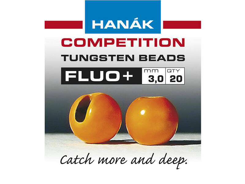 Hanak slotted Tungsten fluo + orange