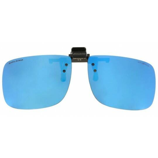 Solano fly fishing polarized CLIP- ON sunglasses  yellow - brown