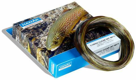 Hanak Camou Clear Intermediate Fly Line
