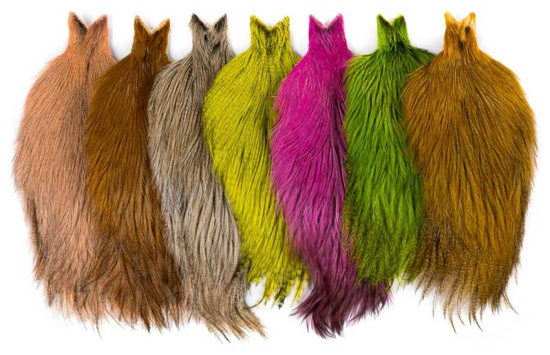 Whiting Coq de Leon Cape Badger dyed 16 colours