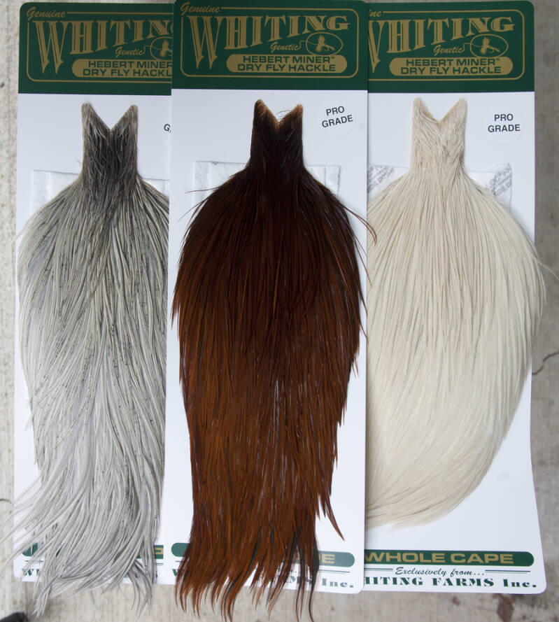 Whiting Farms Hebert Miner Rooster Capes