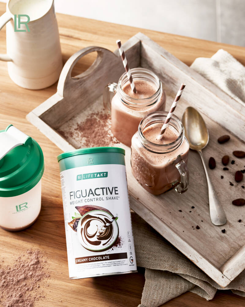 Figu Active Shake Creamy Chocolate - Body Mission
