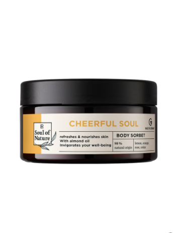 LR Soul of Nature Cheerful Soul Body Sorbet
