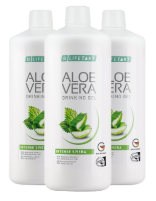 Aloe Vera Drinking Gel Intense Sivera 3er Set - Livetakt
