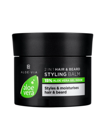 Aloe Vera Mens Essentials 2in1 Haar & Bart Styling Balm