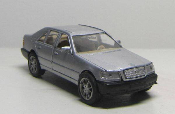 Mercedes Benz 600 SEL - Zilver Metallic