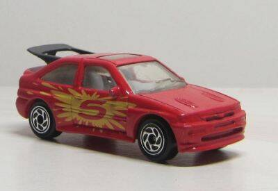 Ford Escort RS Cosworth - Rood