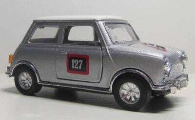 Mini Cooper - Zilver metallic
