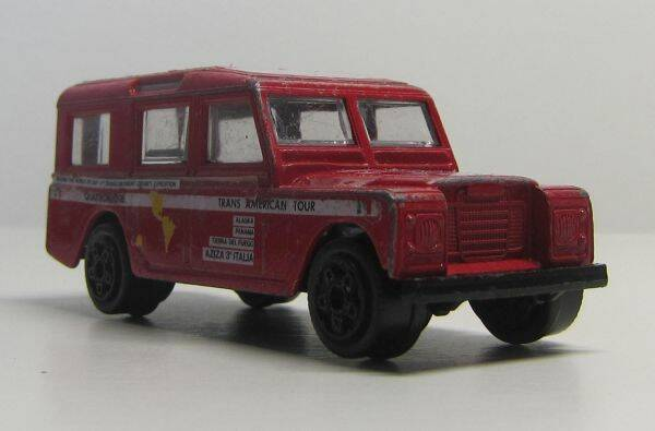 Land Rover - Rood