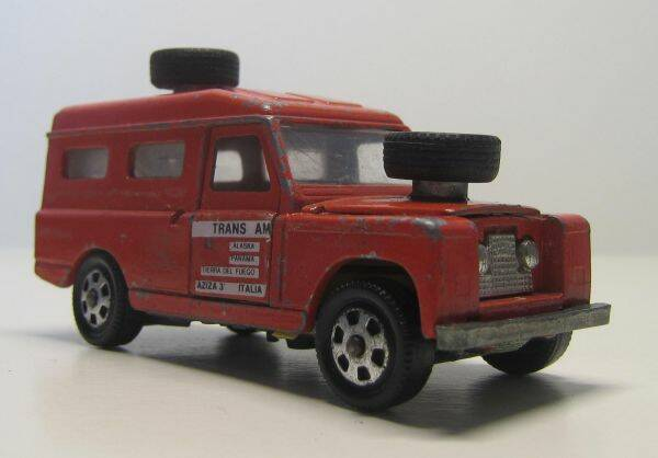 Land Rover - Bruin-rood